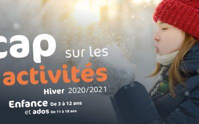 PROGRAMMATION ENFANCE + ADOS HIVER 2021 – INFOS SOIREE DE L'APPRENTISSAGE
