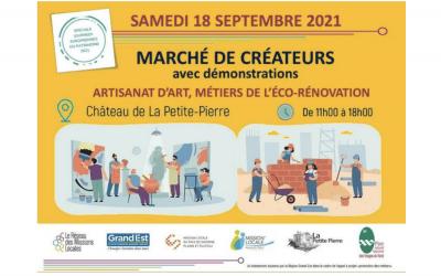 Marché de créateurs et découverte des métiers de l'éco-rénovation